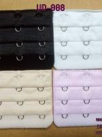 ตะขอเพิ่มขนาดเสื้อชั้นใน เลือนได้ 3 ระดับ แบบ 3 แถว มี 4 สี ขาว ดำ ชมพู เนื้อ สำเนา