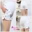 กางเกงขาสั้นคนท้อง ลายแมวเหมียว น่ารักค่ะ L,XXL thumbnail 5