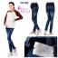 กางเกงยีนส์คนท้อง ผ้าหนา สีสวย มีผ้าพยุงครรภ์ มีสายปรับขนาดครรภ์ L,XL thumbnail 6