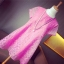 ชุดคลุมท้อง ผ้าไหมแก้วสีชมพู M,L,XL thumbnail 2