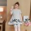 ชุดเสื้อ+กางเกงคนท้อง แบบ4ส่วน เสื้อทรงบาน ลายน่ารัก กางเกงมีสายปรับขนาดภรรภ์ M,L,XL,XXL thumbnail 3