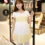 เสื้อคลุมท้อง แขนสั้น ขาวเหลือง thumbnail 2