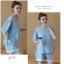 ชุดเสื้อ+กางเกงคนท้อง ผ้ายืดเนื้อดี ด้านข้างผูกด้วยเชือกสวยค่ะ กางเกงเอวต่ำปรับขนาดด้วยเชือกผูก M,L,XL,XXL thumbnail 3