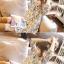 ชุดเดรสคลุมท้อง ลายดอกไม้ ฟ้าอมเทา M,L,XL thumbnail 5