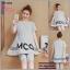 ชุดเสื้อ+กางเกงคนท้อง แบบ4ส่วน เสื้อทรงบาน ลายน่ารัก กางเกงมีสายปรับขนาดภรรภ์ M,L,XL,XXL thumbnail 5