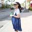เอี๊ยมกระโปรงคนท้อง+เสื้อ น่ารักส่ดใส ผ้านิ่มเบาสบาย ฟรีไซส์ thumbnail 3