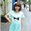 เสื้อคลุมท้องสีฟ้าสดใส ผ้านิ่มใส่สบาย memory L,XL thumbnail 1