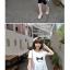 เสื้อคลุมท้อง สีขาว ผ้านิ่มใส่สบาย memory L,XL thumbnail 2