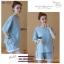 ชุดเสื้อ+กางเกงคนท้อง ผ้ายืดเนื้อดี ด้านข้างผูกด้วยเชือกสวยค่ะ กางเกงเอวต่ำปรับขนาดด้วยเชือกผูก M,L,XL,XXL thumbnail 1