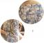 ชุดเดรสคลุมท้อง ลายดอกไม้ ฟ้าอมเทา M,L,XL thumbnail 2