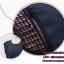เดรสคนท้อง ผ้าฝ้ายใส่สบายๆ ทรงน่ารัก ต่อด้วยลูกไม้เล็กๆ สีน้ำงิน M,L,XL,XXL thumbnail 4