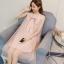 ชุดคลุมท้องทรงน่ารัก ผ้านิ่มด้านนอกเป็นผ้าตาข่ายเพิ่มความสวย มีโบว์ใหญ่ที่คอเริ่ดค่ะ M L XL XXL thumbnail 4