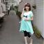 เสื้อคลุมท้องสีฟ้าสดใส ผ้านิ่มใส่สบาย memory L,XL thumbnail 2