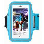 สายรัดแขนออกกำลังกาย Sport Armband สีฟ้า ไซต์เล็ก