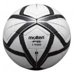 ฟุตบอล MOLTEN F5G1700 เบอร์ 5 สีขาว/ดำ/เทา KS