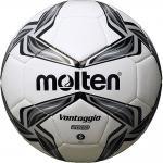 ฟุตบอล MOLTEN F5V2000 เบอร์ 5 สีขาว/เทา/ดำ K