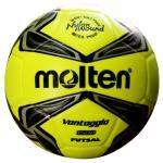 ฟุตซอล MOLTEN F9V1500 สีเหลืองมะนาว/เทา/ดำ LK