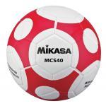 MIKASA ฟุตบอล #MCS40 เบอร์ 4 สี WR ขาว/แดง