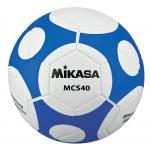 MIKASA ฟุตบอล #MCS40 เบอร์ 4 สี WB ขาว/น้ำเงิน