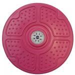จานทวิสต์ EXEO ปุ่มดอกไม้ 10 นิ้ว สีชมพู