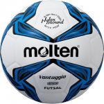 ฟุตซอล MOLTEN F9V1500 สีขาว/น้ำเงิน/ดำ BL