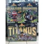 Collection Set Power Rangers DX Lagacy Meagzord (Set 3 pcs)