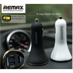 ที่ชาร์จแบตในรถยนต์ Remax Car Charger 3 USB
