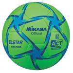 ฟุตบอล MIKASA SE509 เบอร์ 5 สีเขียว/ฟ้า/น้ำเงิน GBSB