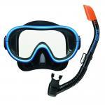 หน้ากากดำน้ำ TABATA UCJ0101 สีฟ้า/ดำ FBBK