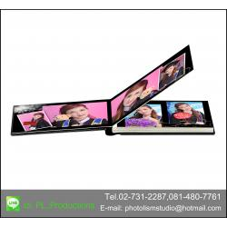 Album LCD ขนาด 4x 6นิ้ว แนวนอน 20หน้า ปกอะครีลิค