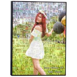 Mosaic Photo ขนาด24x36 นิ้ว กรอบลอยด้าน