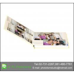 PhotoBook ขนาด 10x12 นิ้ว แนวนอน 20หน้า ปกแข็งพิเศษ เคลือบร้อน