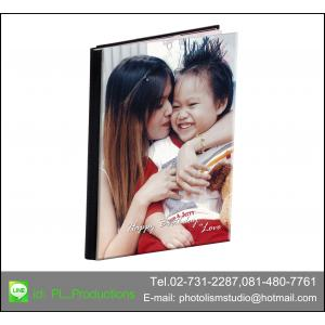 Album LCD ขนาด 6x 8 นิ้ว แนวตั้ง 20หน้า ปกอะครีลิค
