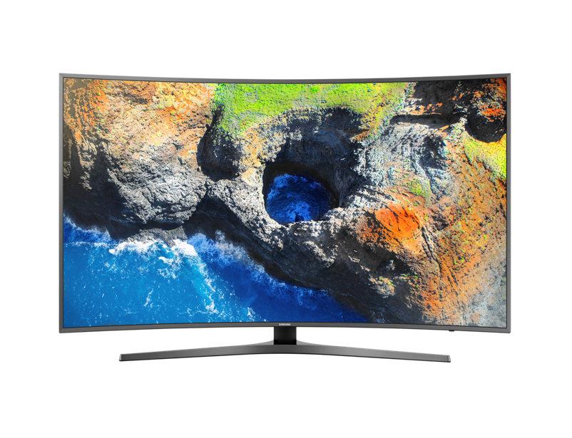 "SAMSUNG 55"" 4K Curved Smart TV รุ่น UA55MU6500K จอโค้ง"