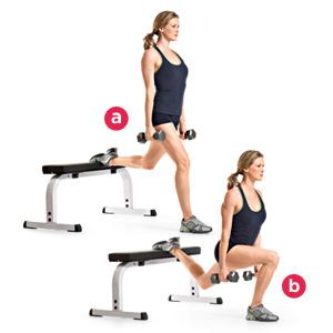 ฺbulgarian split squat