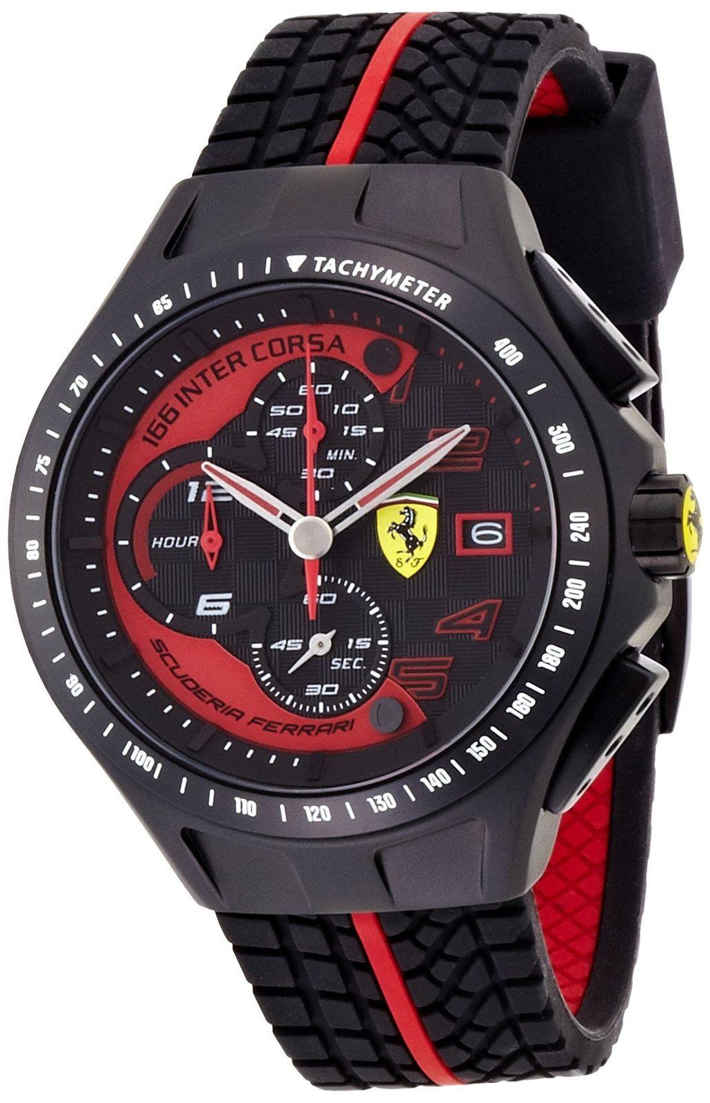 นาฬิกาผู้ชาย Ferrari รุ่น 0830077, Race Day