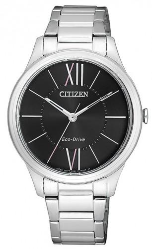นาฬิกาข้อมือผู้หญิง Citizen Eco-Drive รุ่น EM0410-58E, Elegant Watch