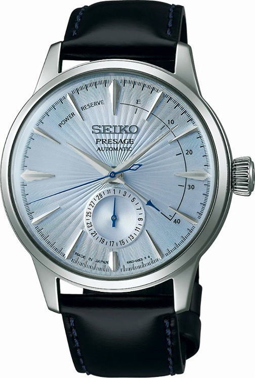 นาฬิกาผู้ชาย Seiko รุ่น SSA343J1, Presage Cocktail Blue Moon Power Reserve Japan Made