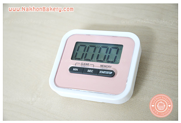 นาฬิกาตั้งเวลา นาฬิกาจับเวลา ทำอาหาร ทำเบเกอรี่ ดิจิตอล