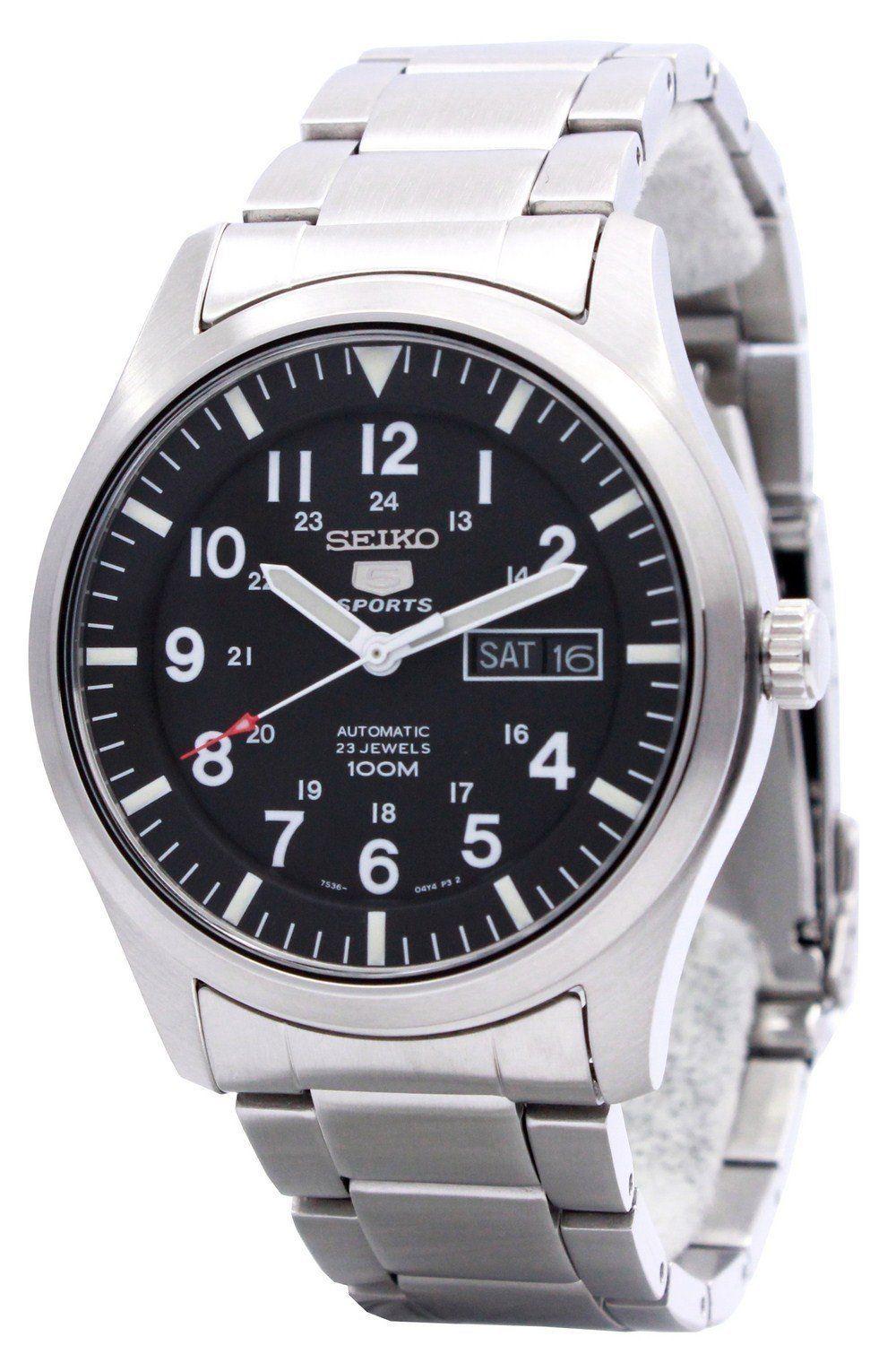 นาฬิกาผู้ชาย Seiko รุ่น SNZG13K1, Seiko 5 Automatic Men's Watch