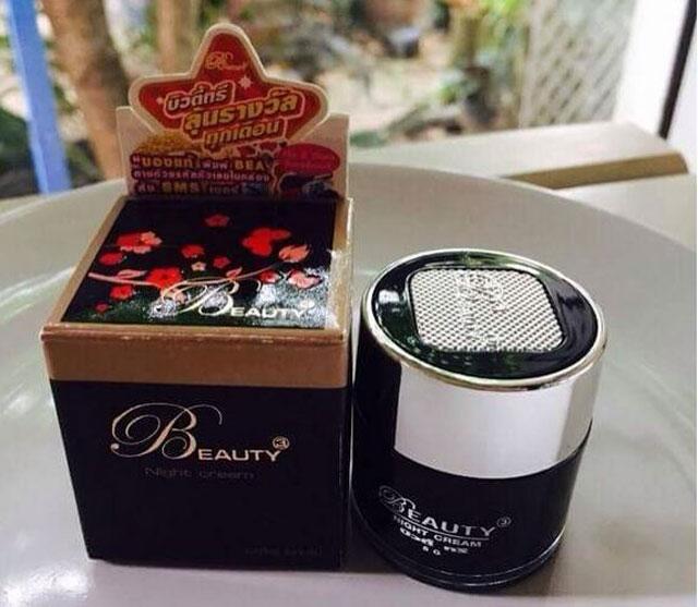 บิวตี้ทรี ไนท์ ครีม Beauty3 Night cream (ครีมกลางคืน) 5g.ราคาถูก ส่งทั่วไทย