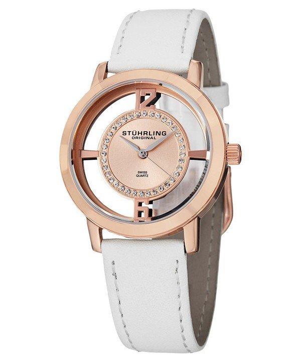 นาฬิกาผู้หญิง Stuhrling Original รุ่น 388L2.SET.03, Winchester Tiara Swiss Quartz