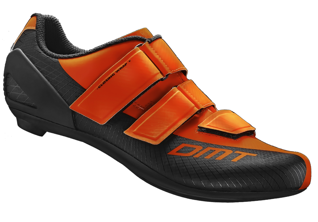 DMT R6 ORANGE FLUO BLACK