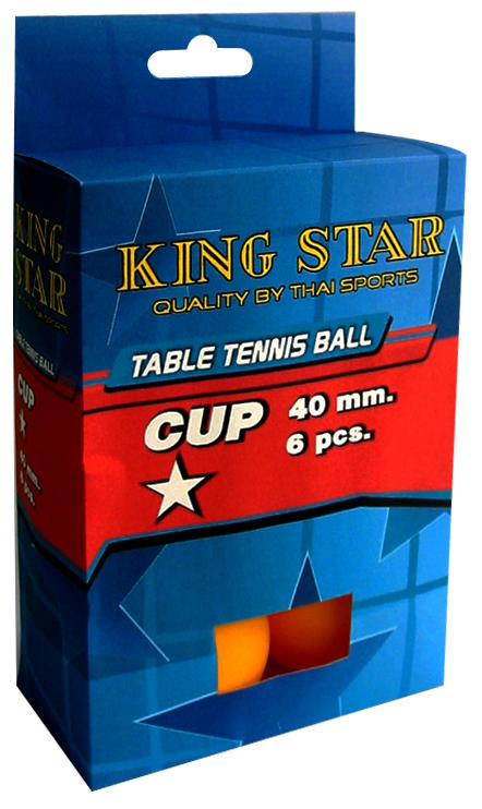 ลูกปิงปอง KING STAR 1 ดาว 1x6