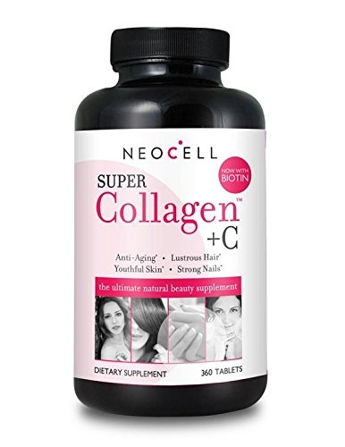 NeoCell Super Collagen Type I & III + Vitamin C with Biotin 360 Tablets
