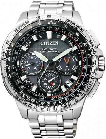 นาฬิกาข้อมือผู้ชาย Citizen Eco-Drive รุ่น CC9020-54E, F900 Satellite Wave World Time Super Titanium