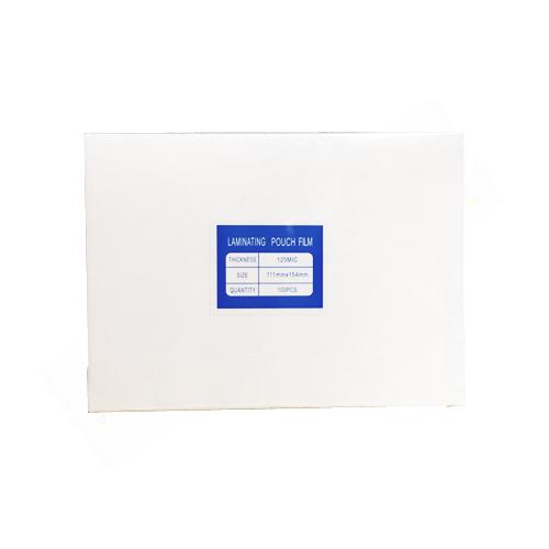 พลาสติกเคลือบบัตร ขนาด 111x154mm.