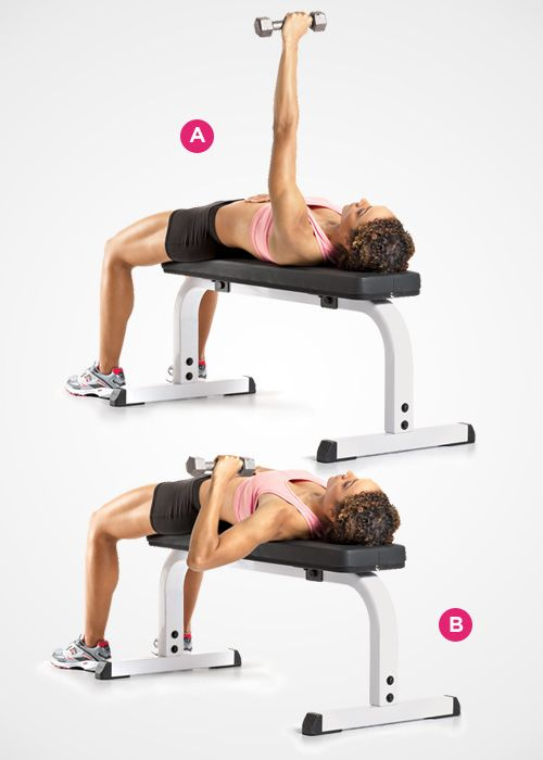 single arm bench press