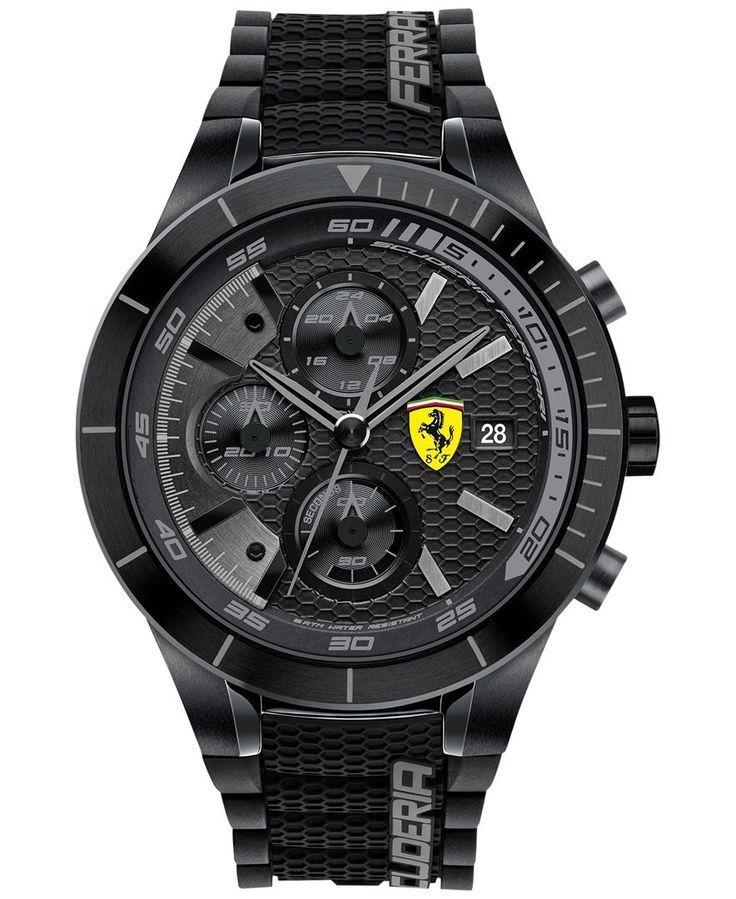 นาฬิกาผู้ชาย Ferrari รุ่น 0830262, RedRev Evo