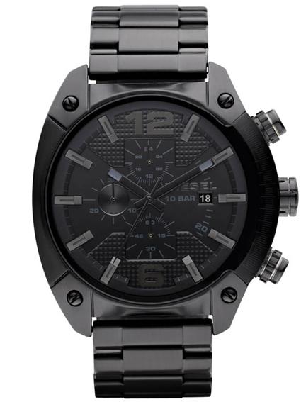 นาฬิกาผู้ชาย Diesel รุ่น DZ4223, Advanced Chronograph Black Dial Ion Plated